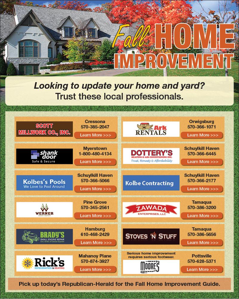 Rh Fall Home Improvement 8 31 17 Times Shamrock Events