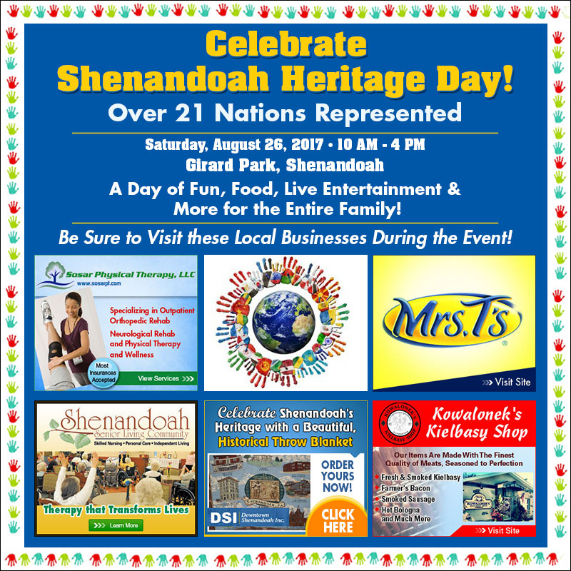Rh shenandoah heritage day 2017 times shamrock events for Pa fish for free days 2017