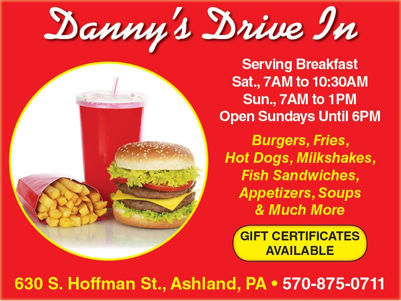 Rh Dannys Diner Times Shamrock Events