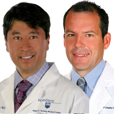 Dr. Carlo De Luna, MD, Neurosurgeon and William Charlton, MD, Orthopedic Surgeon